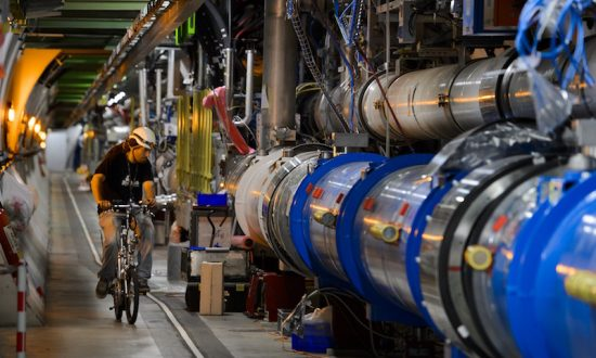 CERN Plans New Particle Accelerator 4 Times Larger Than Current One