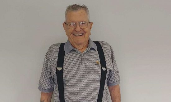 World War II veteran Ellsworth Bell lost 25 pounds on his Jenny Craig Diet. (Courtesy of Jenny Craig)