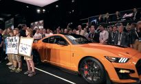 The First 2020 Ford Mustang Sells for $1.1 Million to Help Children With Diabetes