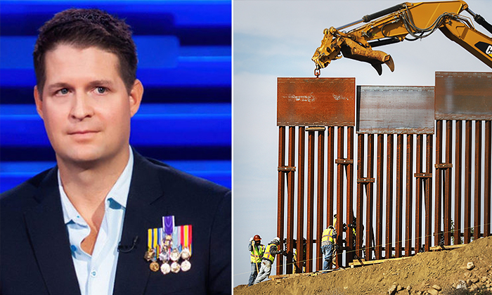 Air Force Vet Heads to Texas to Build 'The Wall' on Private Land After Raising $20 Million on GoFundMe