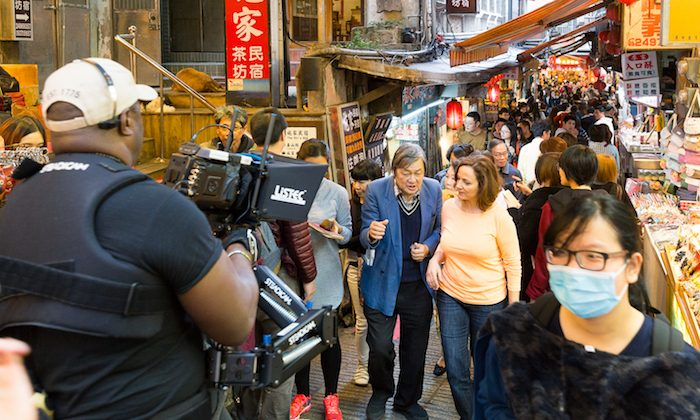 Strolling the streets of Taiwan. (Courtesy of Lofty Sky Entertainment)