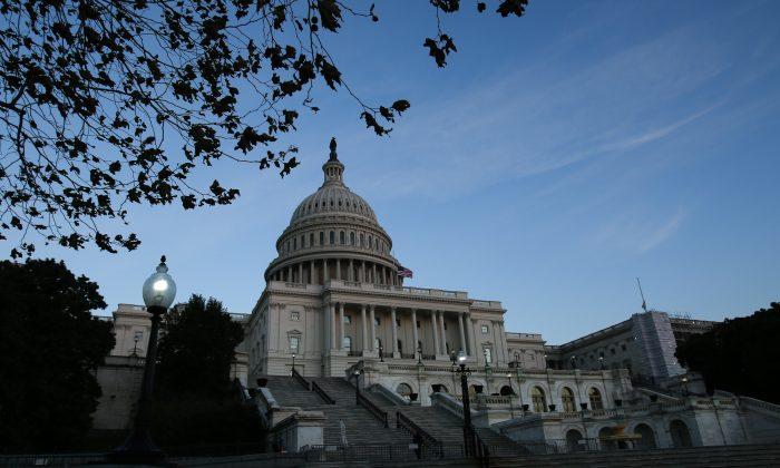 The Capitol in Washington, on Dec. 10, 2018. (Samira Bouaou/The Epoch Times)