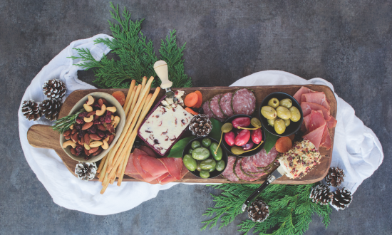 Baby, It's Cold Outside: A Cheese Board for Winter Entertaining