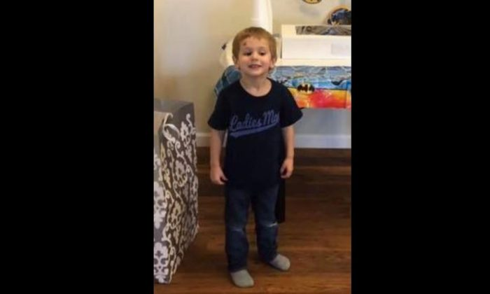 Casey Hathaway, 3, went missing from his grandmother's home in Ernul, N.C., on Jan. 22, 2019. He was found on Jan. 24, 2019. (Craven County Sheriff's Office)