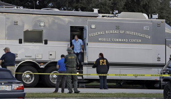 mobile FBI command center