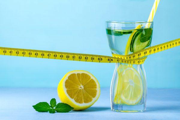 Lemon water helps lose weight