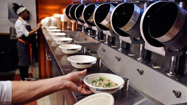 robotic cooking process