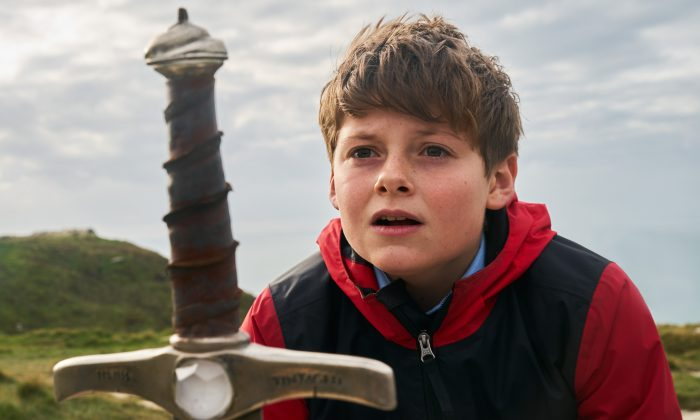"""The Kid Who Would Be King,"" a new film based on the legend of King Arthur, stars Louis Ashbourne Serkis. (Kerry Brown/Twentieth Century Fox)"