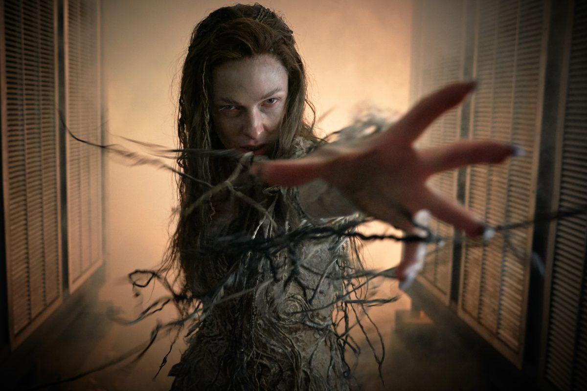 Morgana Le Fay reaches out