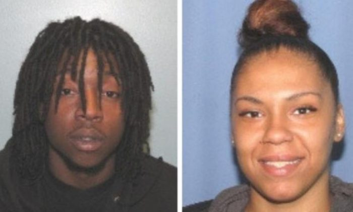 Dariaun Parker, 24, and Tierra Williams, 22, were sentenced to two years and 18 months in prison, respectively, on Jan. 25, 2019, for their roles in their 2-year-old daughter Wynter Parker freezing to death in February 2018. (Akron Police Department)