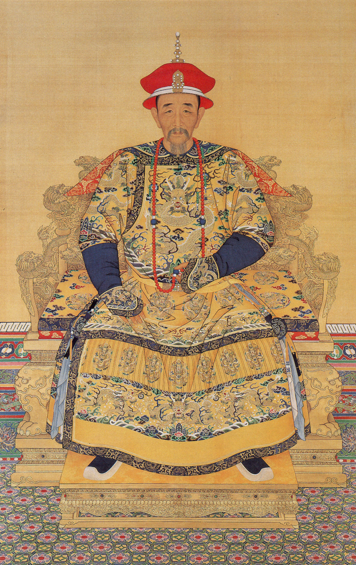 Emperor Kangxi of the Qing Dynasty. (Public Domain)
