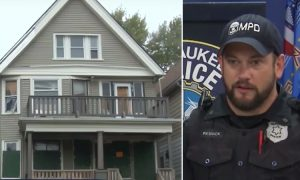Cops Find Pregnant Lady in Abandoned Home, Their Hearts Sink When They Go Upstairs