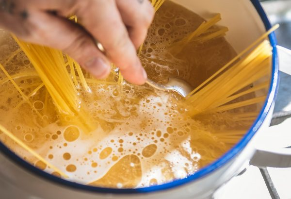The pasta was left unrefrigerated for five days according to the Journal of Clinical Microbiology