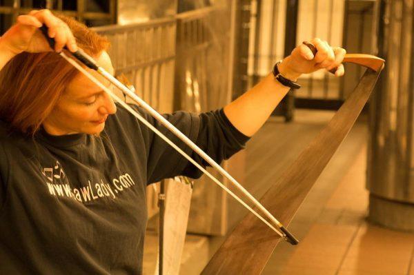 Paruz playing at Herald Square