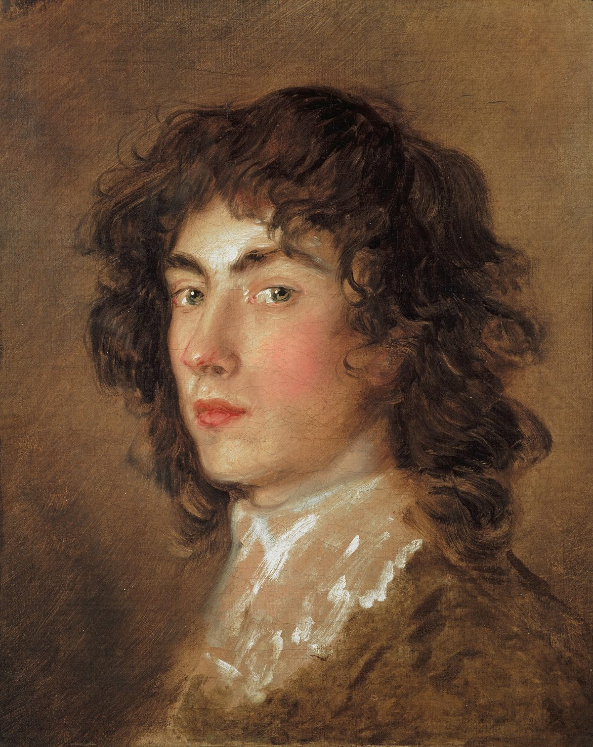 Young man 18th century