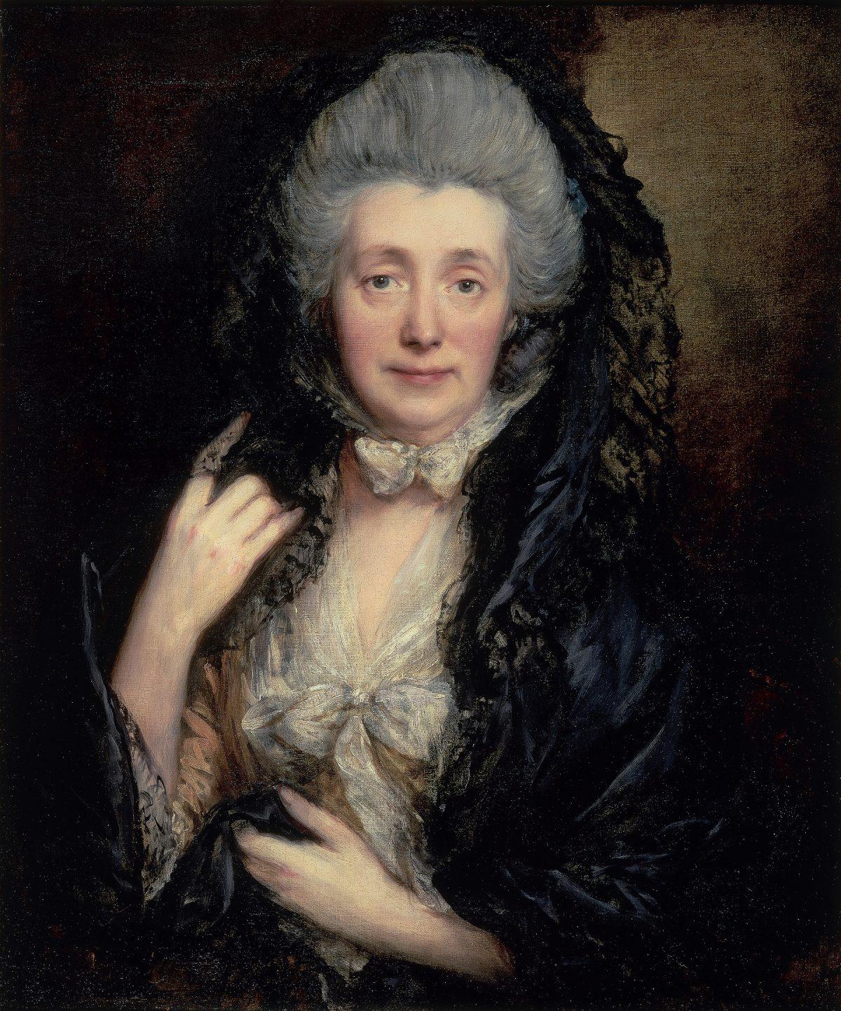 Mature 18th century lady