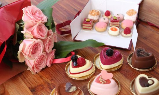 Heart-shaped monoporzioni and pasticcini from Eataly. (Courtesy of Eataly)