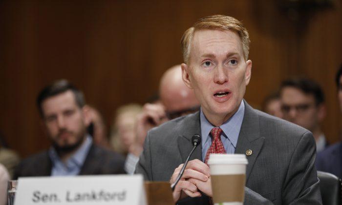 Sen. James Lankford (R-Okla.) on Capitol Hill on Jan. 18, 2017. (Aaron P. Bernstein/Getty Images)