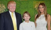 First Lady Melania Is Never Too Busy with State Affairs to Stop Being a Super Mom!