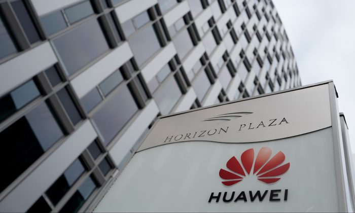 The local offices of Chinese telecoms firm Huawei in Warsaw, Poland, on Jan. 11, 2019 (Reuters/Kacper Pempel)