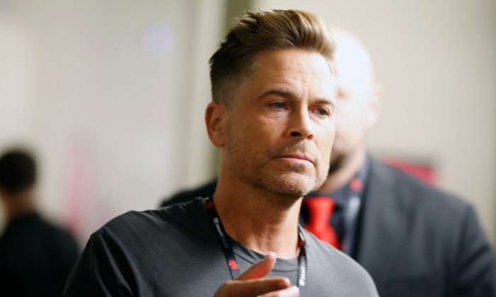 Rob Lowe attends the 2017 iHeartRadio Music Festival in Las Vegas, Nevada Sept. 22, 2017. (Isaac Brekken/Getty Images for iHeartMedia)