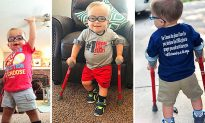 Mom Shares Video of Tot With Spina Bifida Learning to Walk