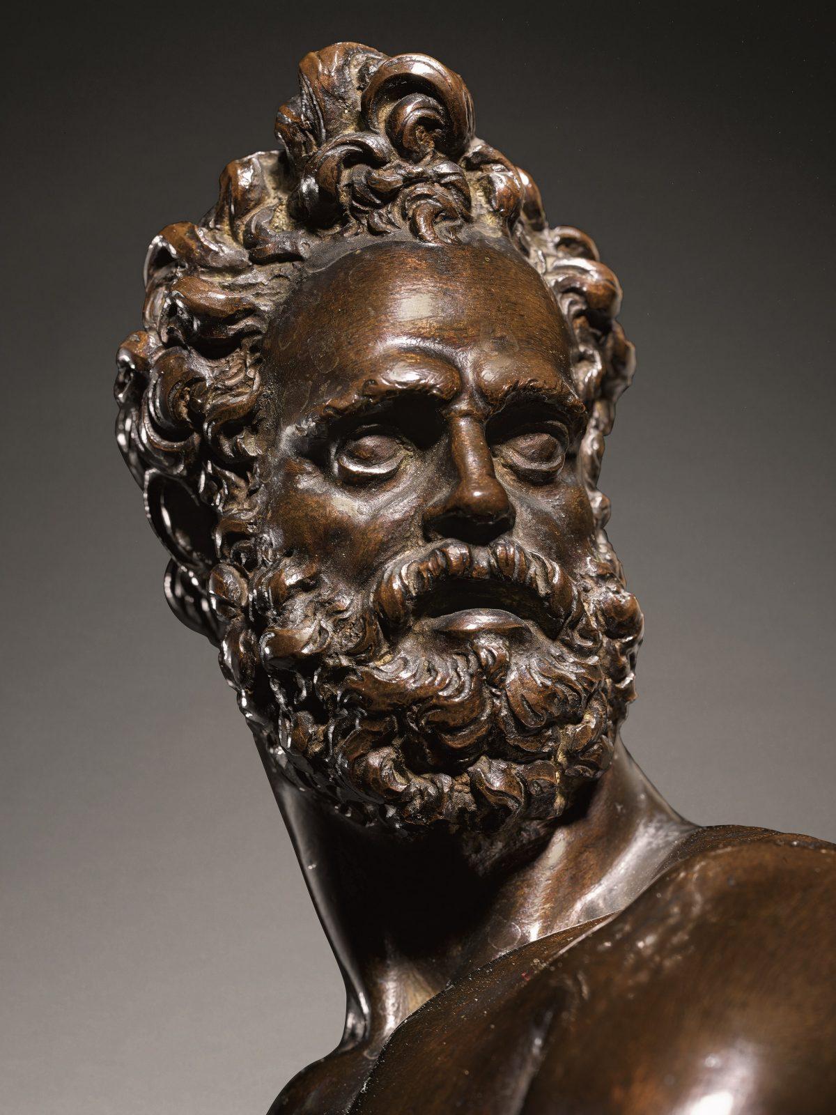 Mars Head in Bronze