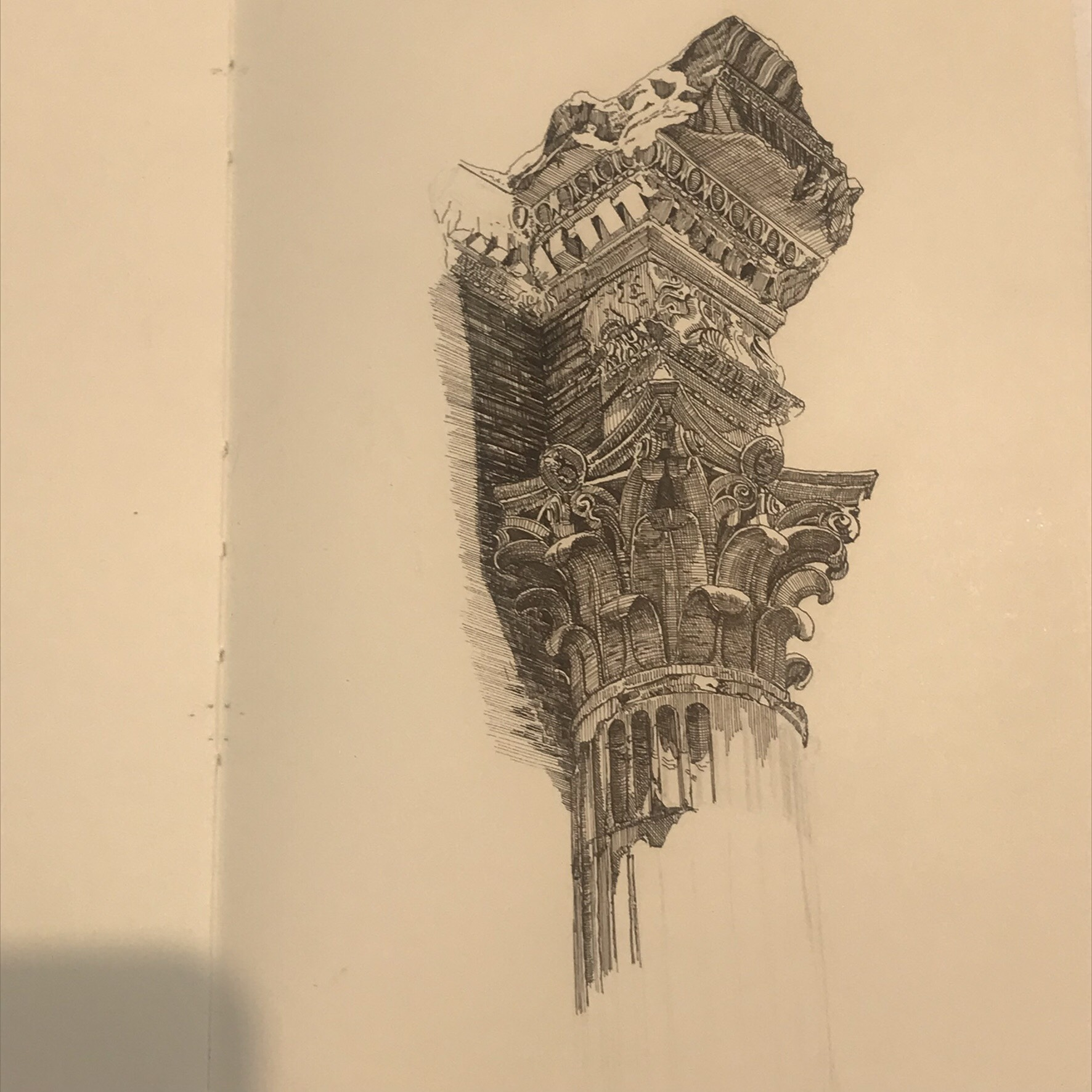 Sketchbook by Vi Luong. (Milene Fernandez/The Epoch Times)