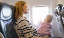 Parents Gift Goody Bags and an 'Apology Note' to Passengers Ahead of Baby's First Flight