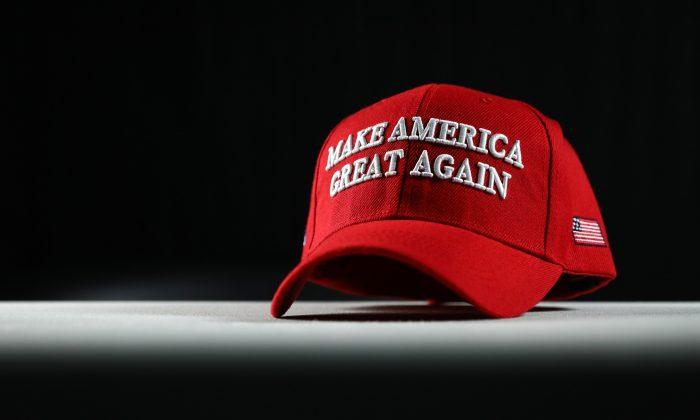 "A Make America Great Again, or ""MAGA,"" hat, on Jan. 22, 2019. (Samira Bouaou/The Epoch Times)"