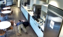 Footage Shows Man's Fake Fall for Insurance Money