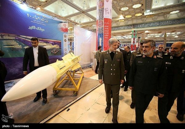 Iran dismisses European Union concern about missile tests as