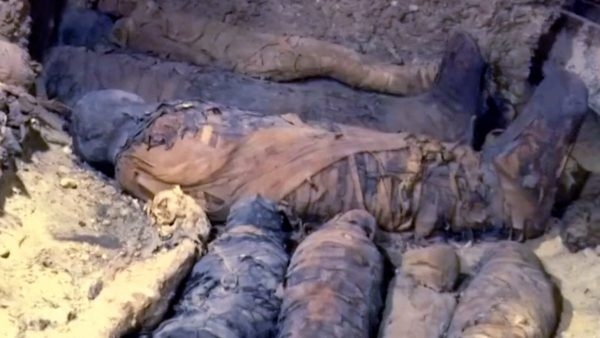 Mummies discovered in ancient Egyptian burial chambers