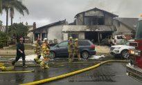 Plane Kills 2, Burns 2 After Hitting California House