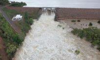 1,100 Evacuated as Dam Floodgates Open, Crocs Invade Streets