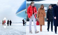New Photos Show 12-Year-Old Barron Trump Soaring to New Heights