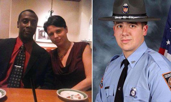 (L: Facebook | Crystal N Donald Howard, R: Facebook | Officer Nathan Bradley)