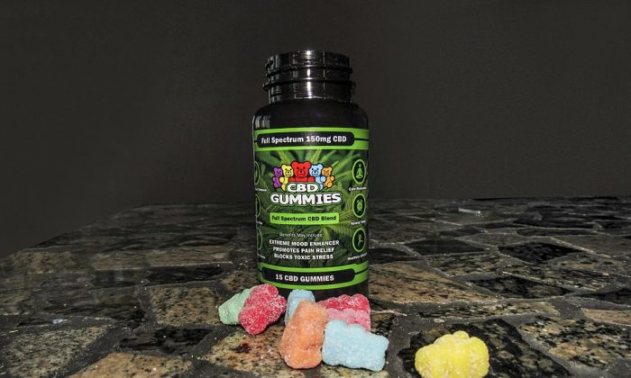 Marijuana infused gummy bears. (Vaporvanity/Wikimedia Commons [CC BY 4.0 (ept.ms/2htXG3C)])