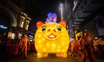 Videos of the Day: Asia Welcomes Year of the Pig With Banquets, Temple Visits