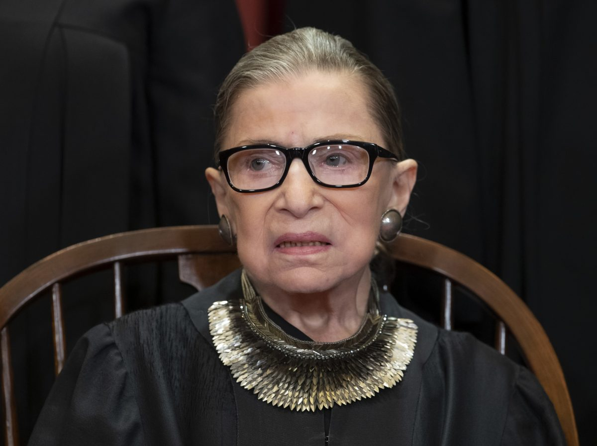 ruth bader ginsburg appears in public