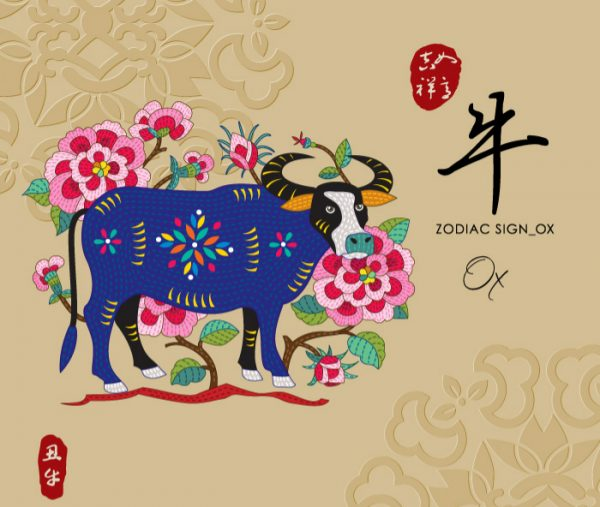 12 Chinese zodiac signs - Ox