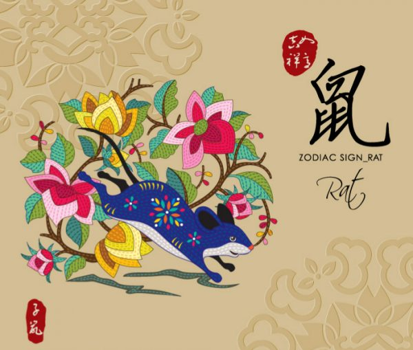 12 Chinese Zodiac Signs - Rat