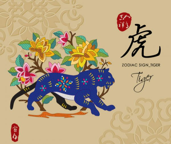 12 Chinese zodiac signs - Tiger