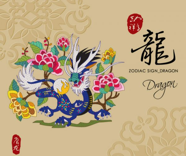 12 Chinese zodiac signs - Dragon