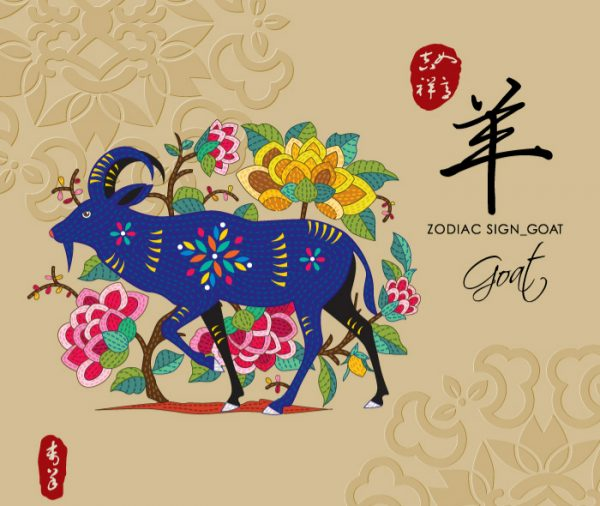 12 Chinese zodiac signs - Goat
