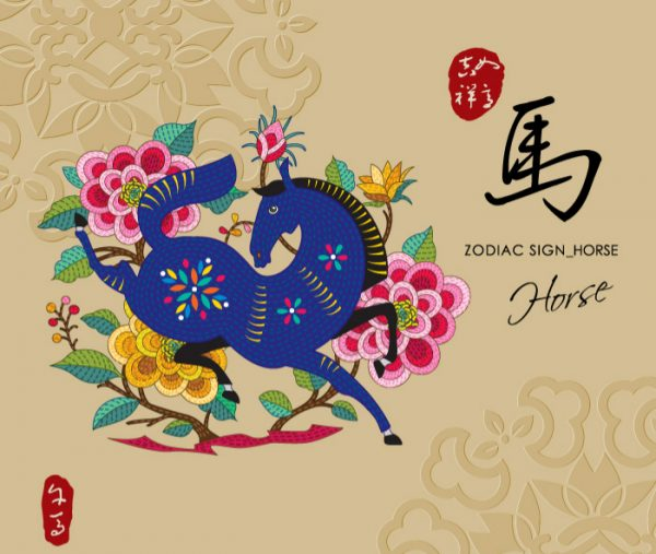 12 Chinese zodiac signs - Horse