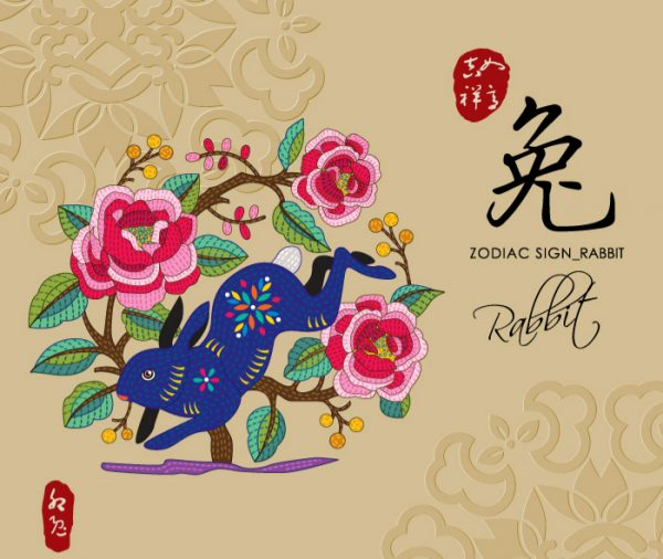 12 Chinese zodiac signs - Rabbit