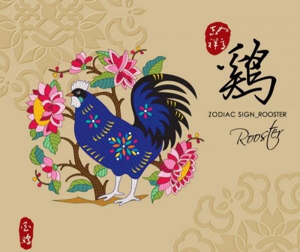12 Chinese zodiac signs - Roosters