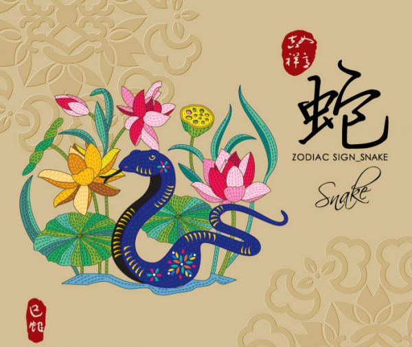 12 Chinese zodiac signs - Snake