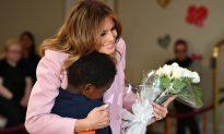 Melania Spends Valentine's Day with Sick Kids, Celebrating 'Bravery, Strength, and Love'
